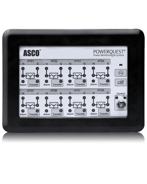 Donwil Company ASCO 5350 Eight Channel Remote Annunciator