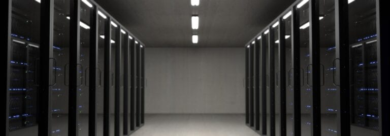 Data center being monitored